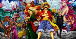 The Straw Hat Pirates
