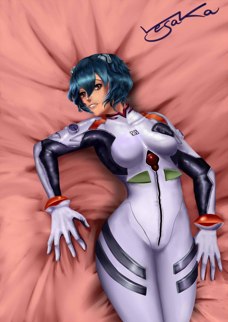 Ayanami Rei by Vesaka