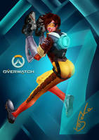 Tracer - Overwatch by Vesaka
