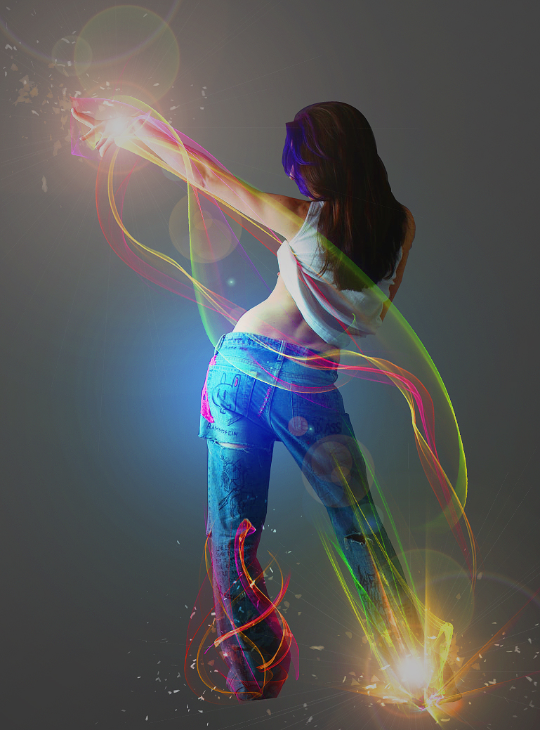 Dance Lights by SamCookeGraphics
