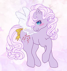 Forget-Me-Not  mlp g1 by riffa-nosuke