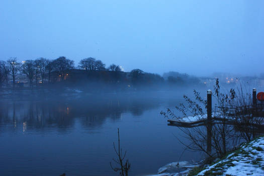 The River Bann in Winter