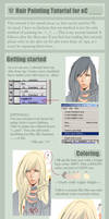 Hair Painting Tutorial for oC