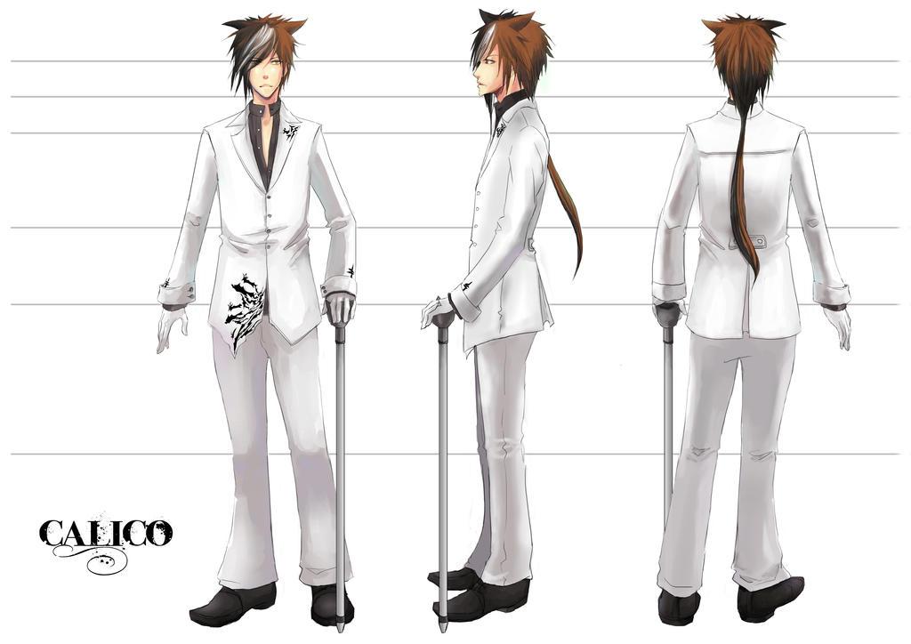 Calico Character Model Sheet By Kayoru