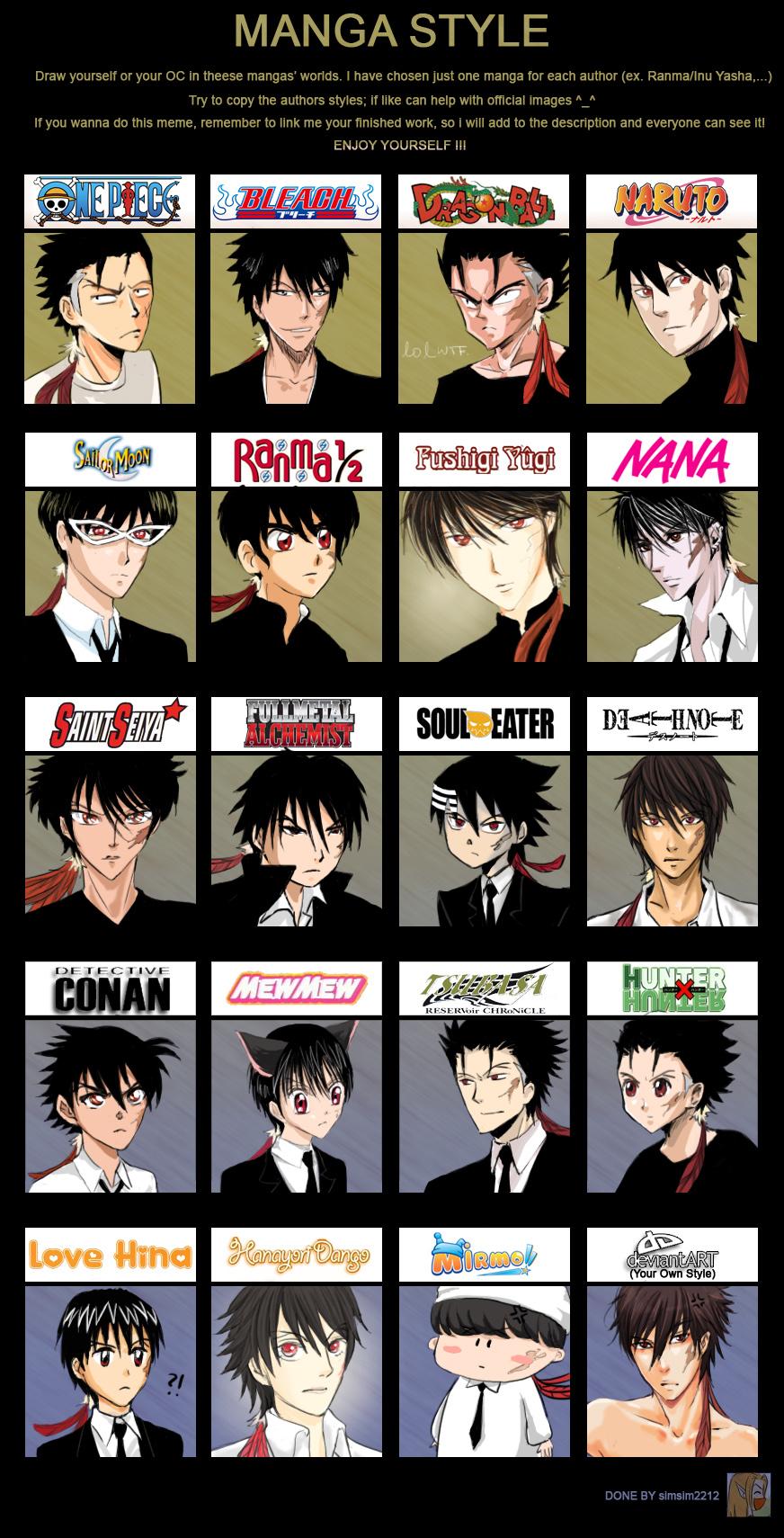 Manga Style Meme Boss ver. by kayoru