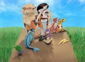 Pokemon - Journey Home by Vaporeon249