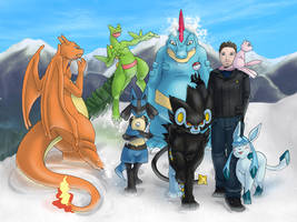 Pokemon - 3 Seconds Away From by Vaporeon249