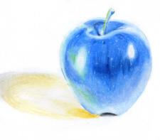 Blue Apple by Vaporeon249