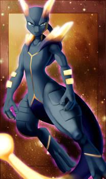 Special Showing- Pokken Dark /Shadow Mega Mewtwo X by Vaporeon249