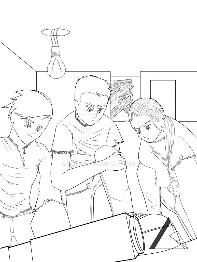 Sketch (comic book process) by Blazten