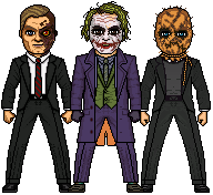 The Dark Knight Villains by MicroManED
