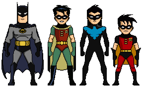 Batman TAS by MicroManED