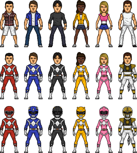 Mighty Morphin Power Rangers Wallpaper: Mighty Morphin Power Rangers 2 By MicroManED On DeviantArt