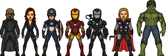 Avengers by MicroManED
