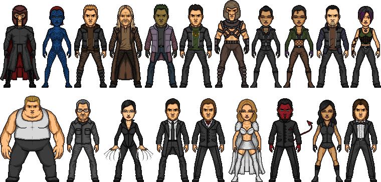 X Men Villain Movieverse by MicroManED on DeviantArt