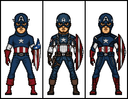 Evolution of Captain America by MicroManED