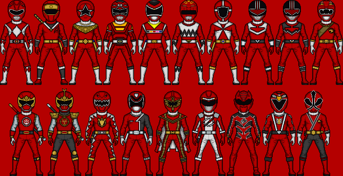 Red Ranger Power by MicroManED