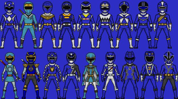 Blue Ranger Power by MicroManED