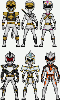 White Ranger Power by MicroManED