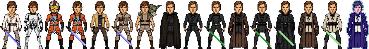 Luke Skywalker by MicroManED