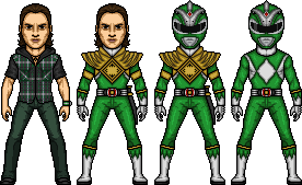 Tommy / Green Mighty Morphin Ranger by MicroManED