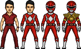 Jason / Red Mighty Morphin Ranger by MicroManED