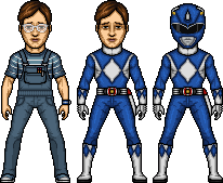 Billy / Blue Mighty Morphin Ranger by MicroManED