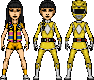 Trini / Yellow MIghty Morphin Ranger by MicroManED