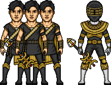 Trey of Triforia / Gold Zeo Ranger by MicroManED