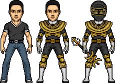 Jason / Gold Zeo Ranger by MicroManED
