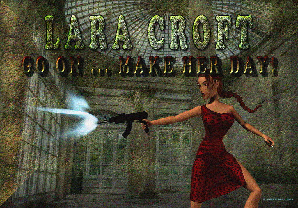 Lara Croft: Go on Make Her Day