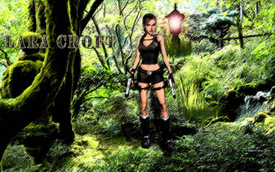 Lara Croft: Secret Garden