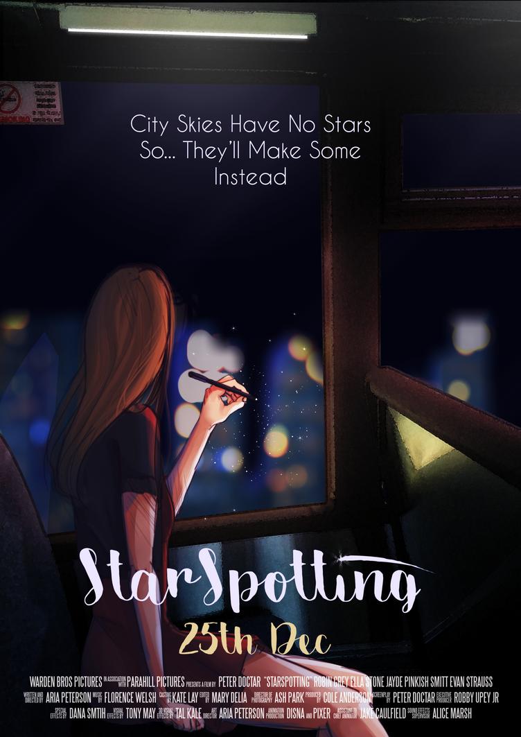 Starspotting- Film Poster by Blackstar2705