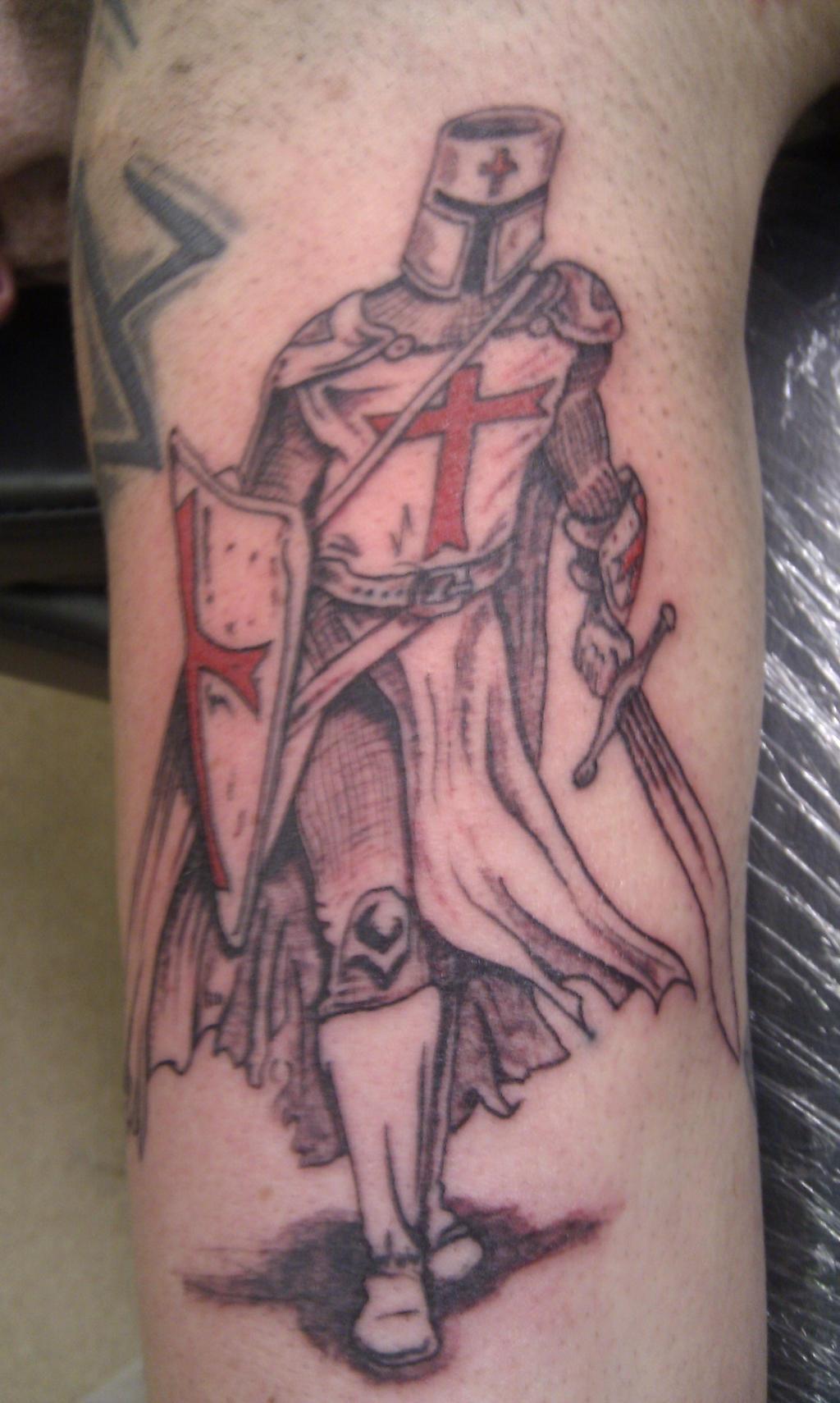 knight templar tattoo by madbadger69 on deviantart