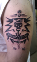 Army badge tattoo by madbadger69