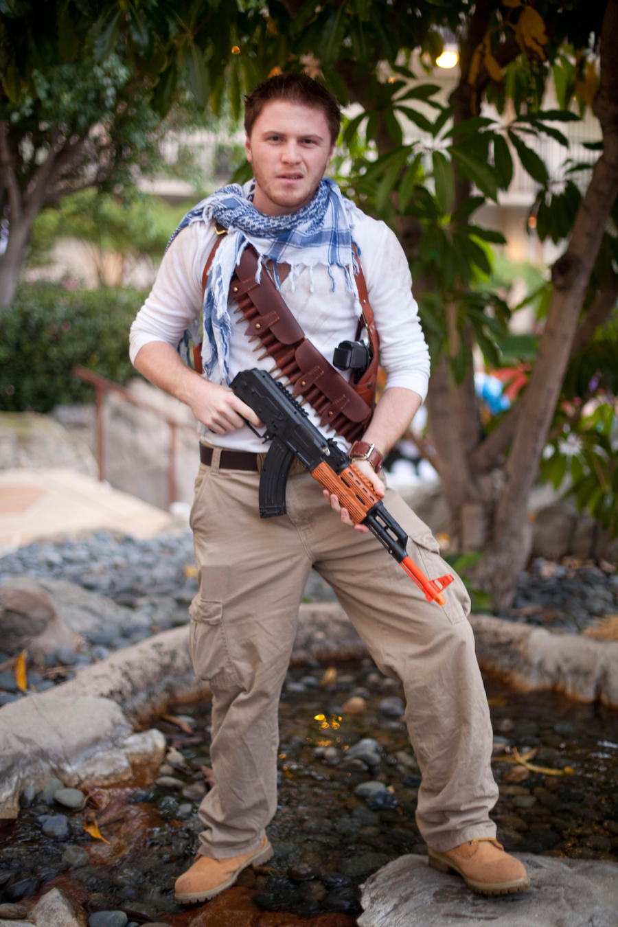 Uncharted Cosplay Welcome To The Jungle By Stormwolf92 On