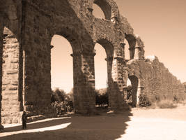 Aqueducts with countryman by CpolART