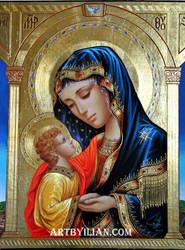 1 Madonna Col Bambino Santa Chiara E San Francesc by ilian00