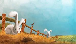 Rabbits by CeyhunSen