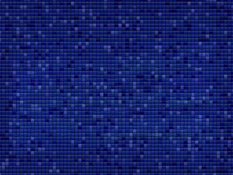 blue mosaic by vividia