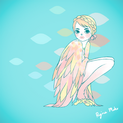 Harpy by nekofoot