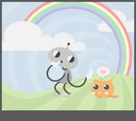 shh, the rainbow will hear you
