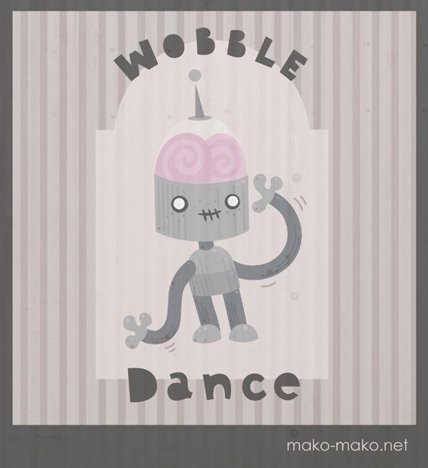 how to do the wobble wobble dance