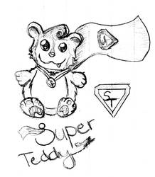 Suuuper Teddy by Sameey