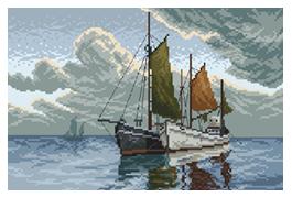 I am sailing by PixelFreya