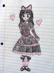 Cupcake Goth Lolita by StrawberryGoth