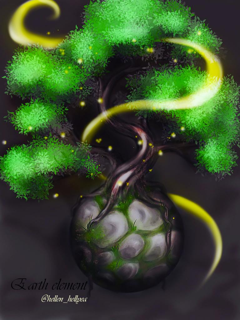 Earth element by HellenSochi