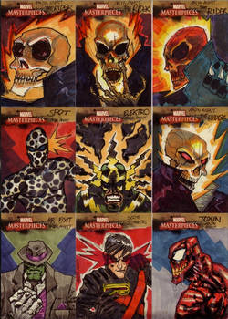 marvel sketch cards 07to15