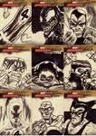 marvel sketch cards 43to51