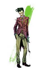 Joker Commission Sample by anjinanhut